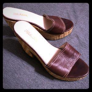 Women's Prada slip-on shoes